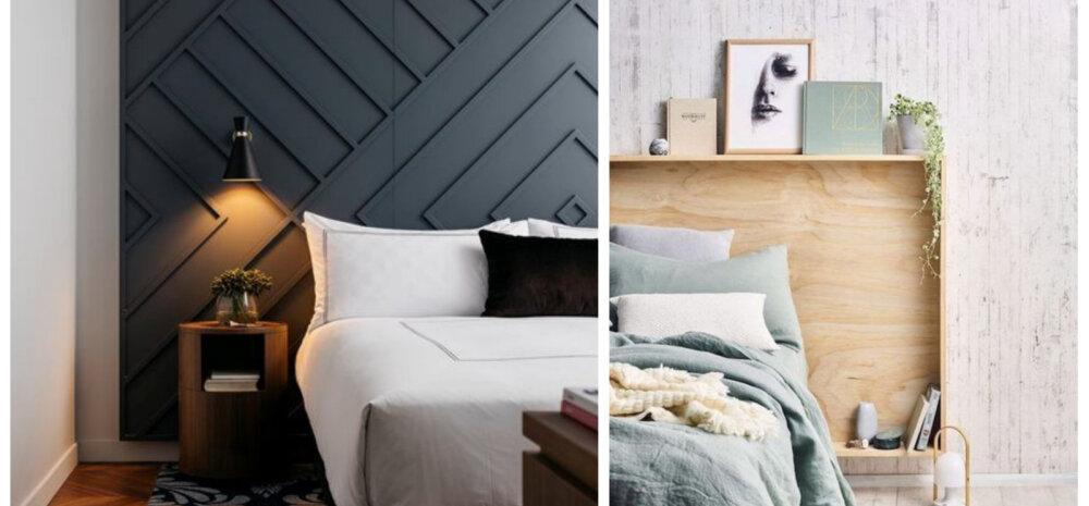 Pilkupüüdev voodipeats on magamistoa krooniks — vaata lahedaid ideid!