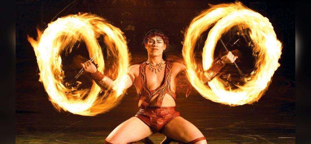 Cirque du Soleil toob Suurhalli akrobaatika, tule ja lumetormi