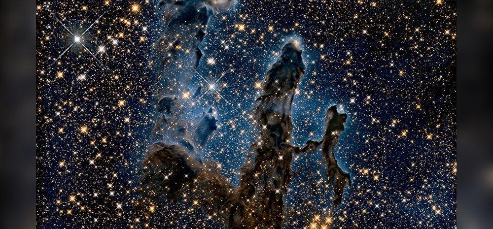 Kosmoseteleskoop Hubble paljastab seninägematud detailid kosmilistes sammastes