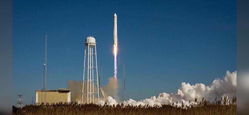 USA erafirma veolaev asus teele rahvusvahelise kosmosejaama suunas