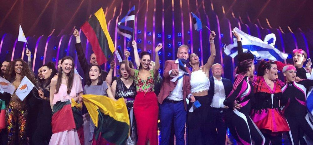 """BLOGI JA FOTOD   Suurepärane! Elina Nechayeva imeline """"La Forza"""" viis Eesti Eurovisioni lauluvõistluse finaali!"""