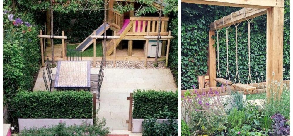 Häid nippe, kuidas kujundada lastesõbralik aed