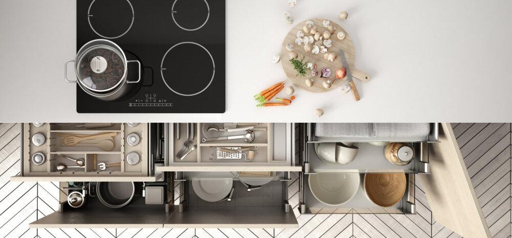 Häid nõuandeid, kuidas köögis asju paremini organiseerida