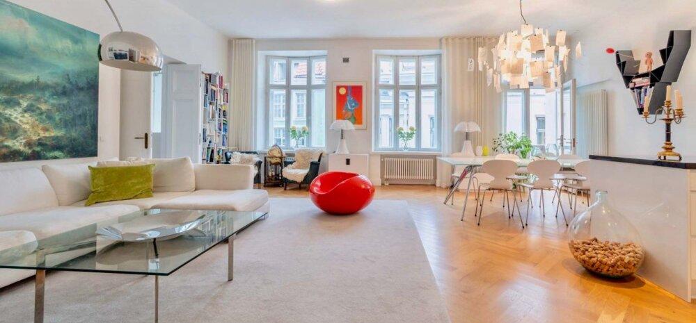 FOTOD | Luksuslik elamine Tallinna vanalinnas lummab helge ja värske sisekujundusega
