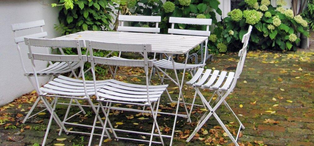 НА ЗАМЕТКУ | Как подготовить садовую мебель к зиме