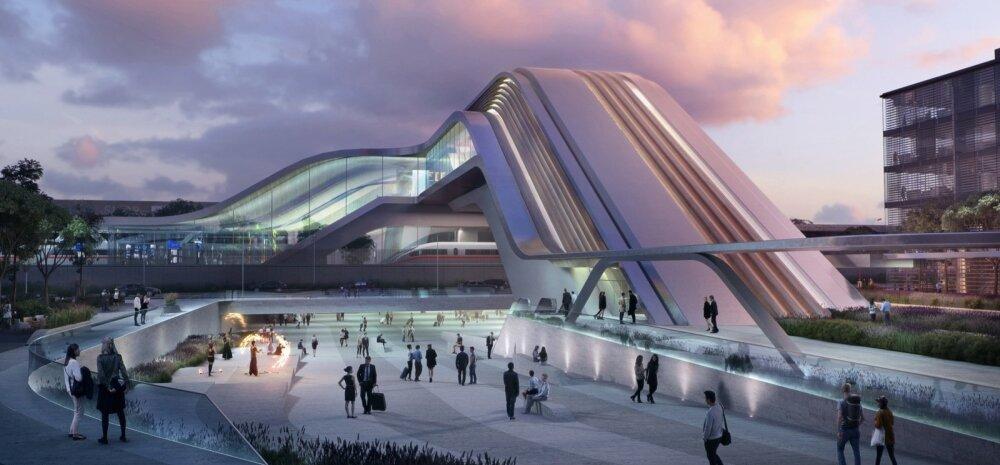 RB Ülemiste ühisterminali arhitektuurikonkursi kolm võidutööd