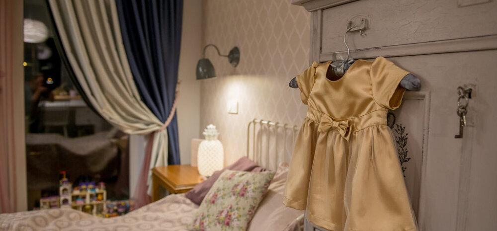 Kuidas valmis väikese türduku unistus — printsessi tuba