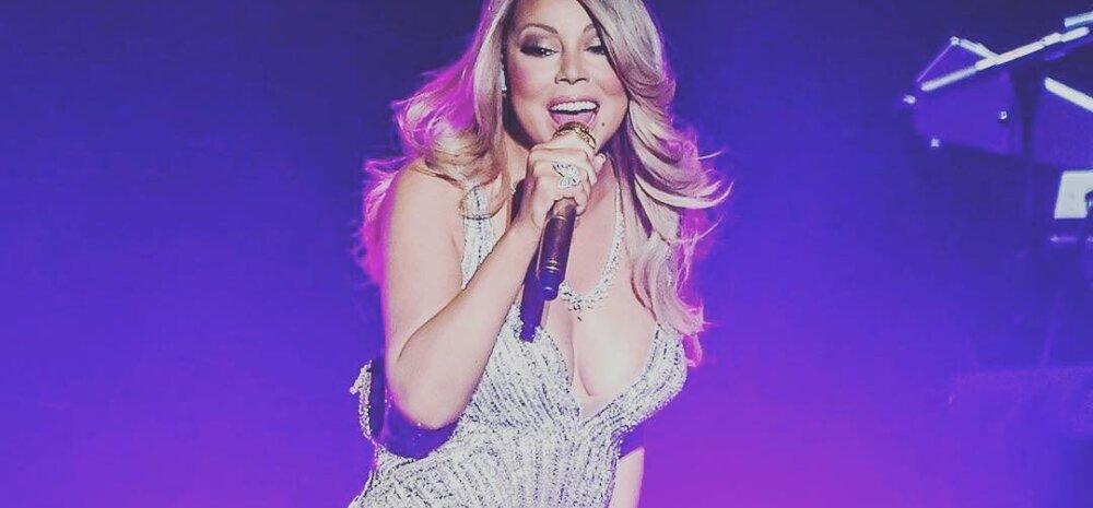 VIDEOD JA FOTOD: Vaata, kuidas nägid välja Mariah Carey põhjamaade kontserdid läbi publiku silmade