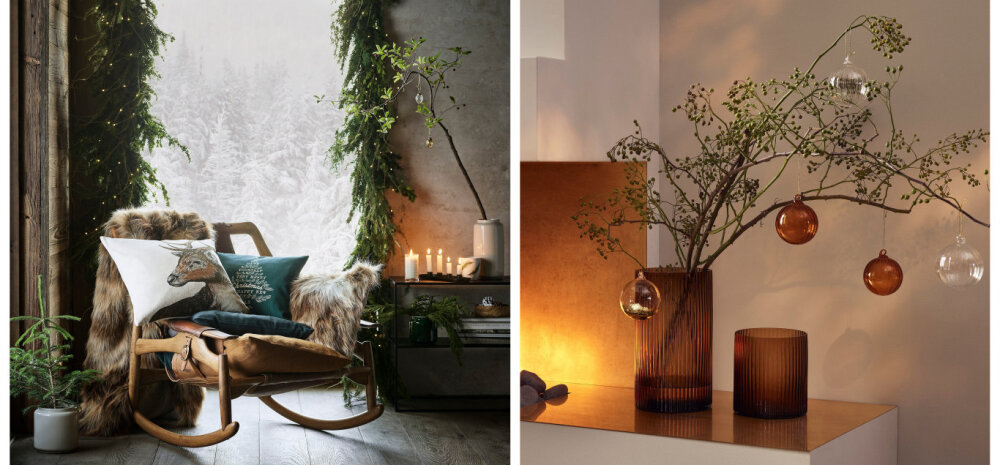 FOTOD | Kuldne või rustikaalne? Vaata H&M HOME`i ideid talvisesse interjööri