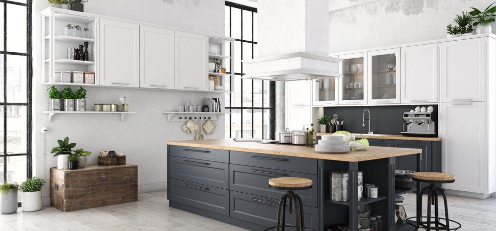 Nipid, mille abil pisikeses köögis ruumi säästa