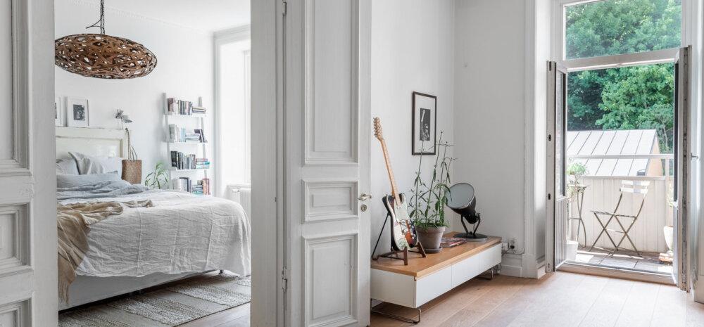 FOTOD │ Helge ja valge kodu, mille krooniks on ürdiaiaga rõdu