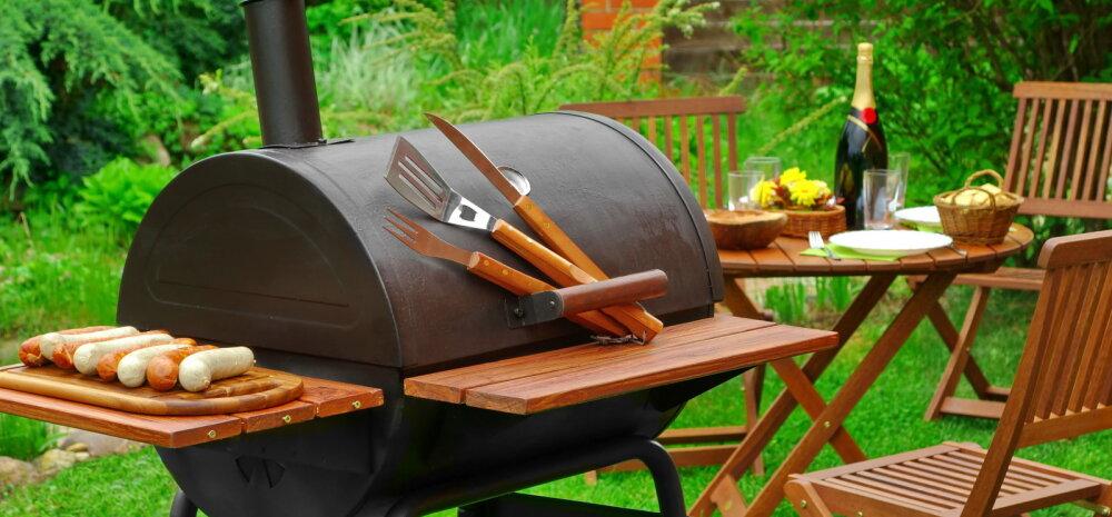 Kuhu on kõige mõistlikum rajada grillinurk?