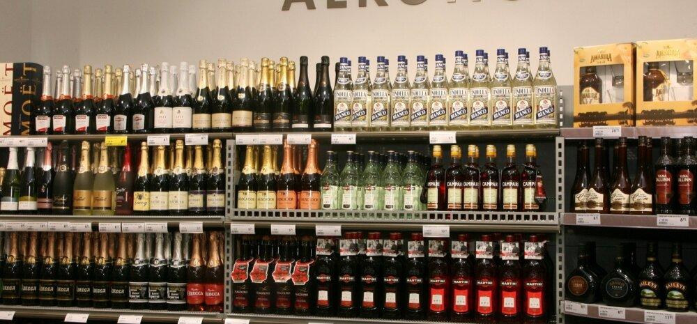 TOIDUPOOD, ALKOHOLIRIIUL