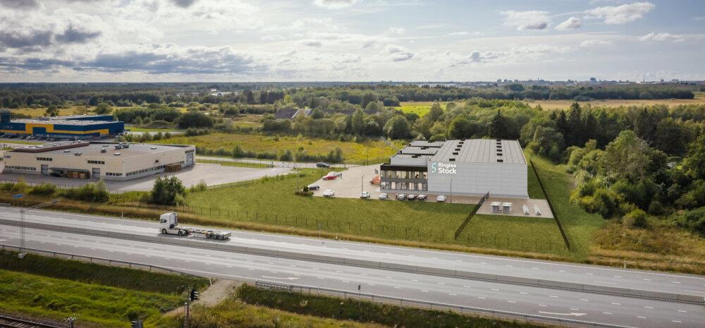 Коммерческие и производственные площади вдоль будущей трассы Rail Baltic появляются уже сейчас
