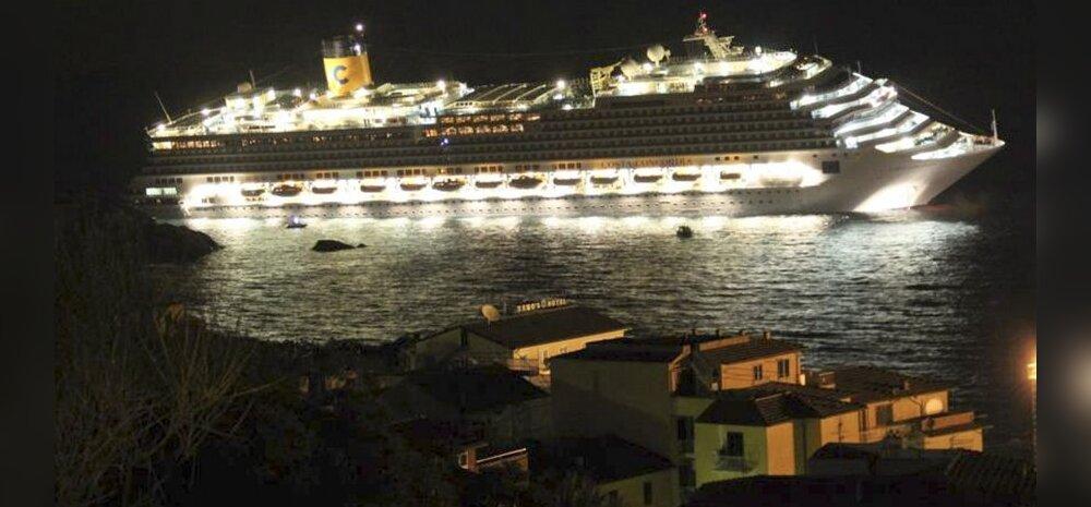 FOTOD: Itaalia rannikul hukkus suures laevaõnnetuses kolm inimest