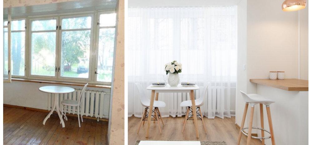 ДО И ПОСЛЕ | Скандинавский интерьер советской квартиры в Копли