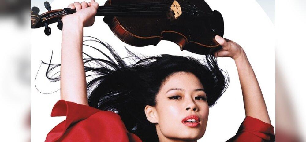 Viiulivirtuoos Vanessa Mae jätab muusika, et hakata olümpiasuusatajaks