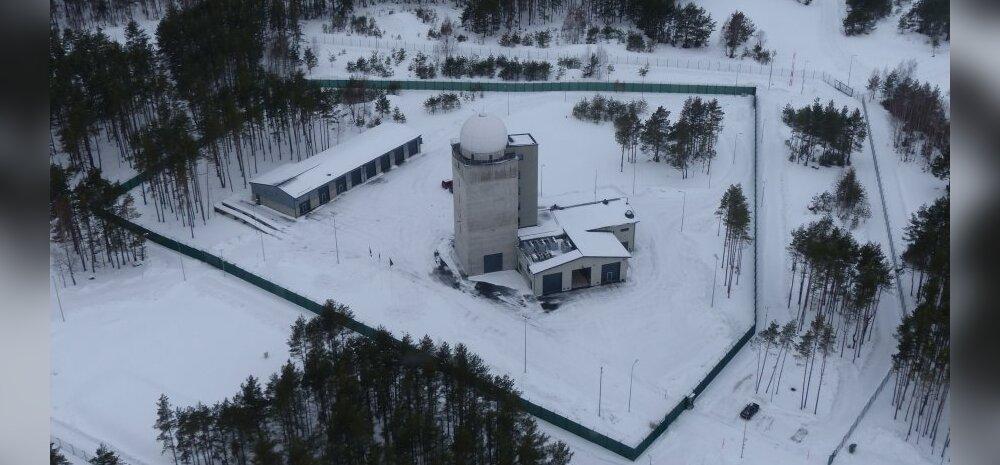 Vatsne radarpost Muhu saarel. Foto: Eesti õhuvägi