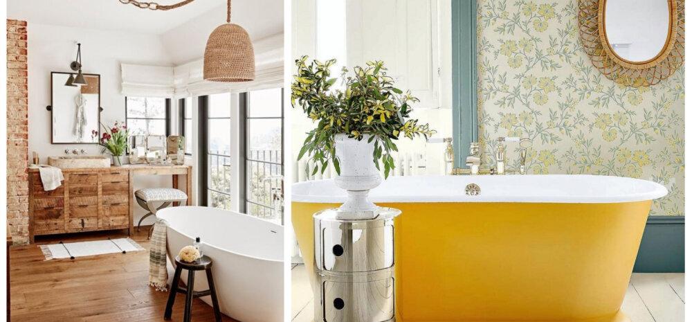 FOTOD | Hubaselt tubased vannitoad, mis on kõike muud kui igavad