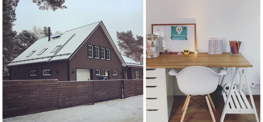 KODUBLOGI | Lastetubade ja kodukontori sisustamisest ning veelkord köögist ja kamina viimistlusest