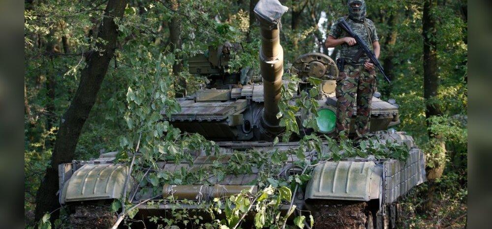 Танк T-64БМ антиправительственных сил