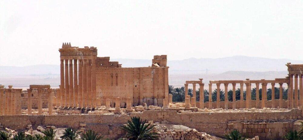Islamiriik vallutas Süüria vägedelt iidse Palmyra, kardetakse ajaloomälestiste hävitamist