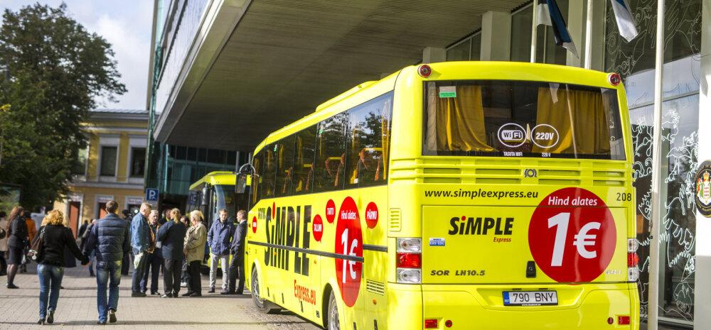 Odavbussifirma sõidutab ühe euro eest nüüd ka väikelinnadesse