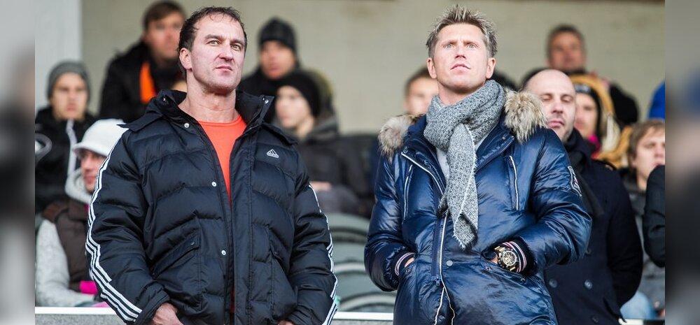 FOTO: Kurikuulus narkoärikas elas VIP-sektoris kaasa Nõmme Kalju tiitlimängule