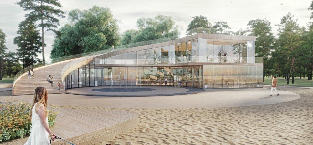 ФОТО | Завершилось народное голосование за эскизы нового пляжного здания Штромки. Смотрите, какой проект выбрали таллиннцы!