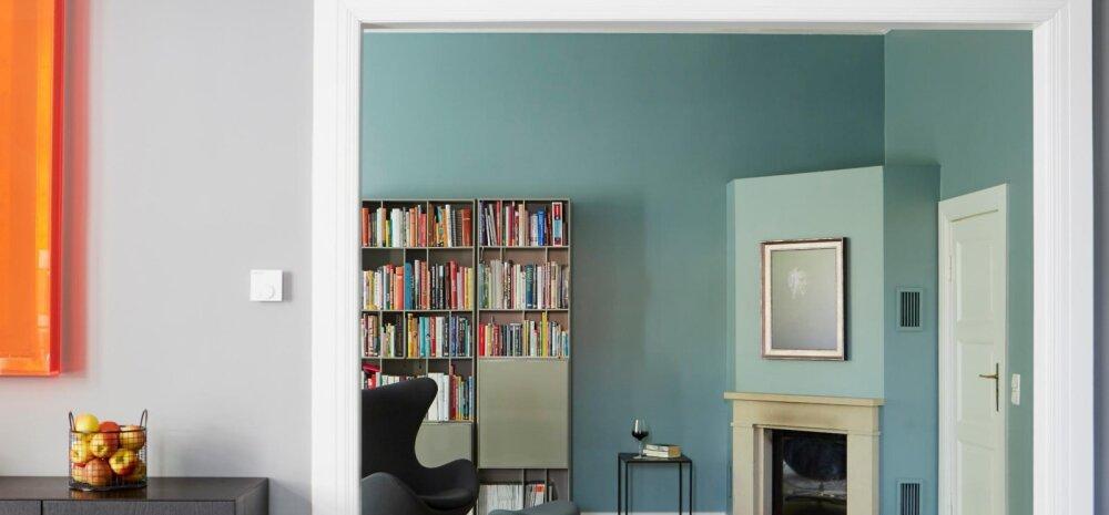 FOTOD   Inspireerivaid värvilahendusi pakkuv villa Berliinis