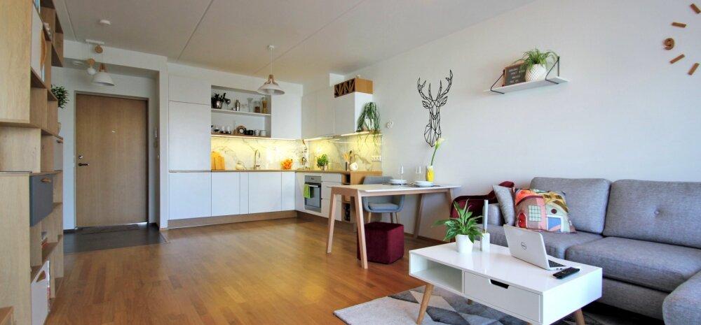 """""""MEIE KODU 2018"""" │ Skandinaavia stiilis köök Mustamäe uuselamus"""