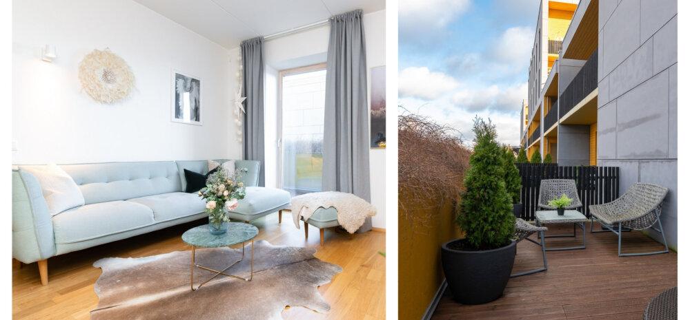 FOTOD | Mõnusa rõdu ja terrassiga korter Kalamajas