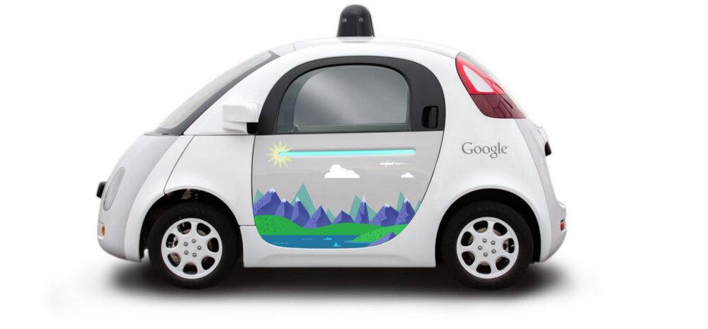 Politseinik peatas Google'i isesõitva auto, sest see takistas aeglaselt sõites liiklust