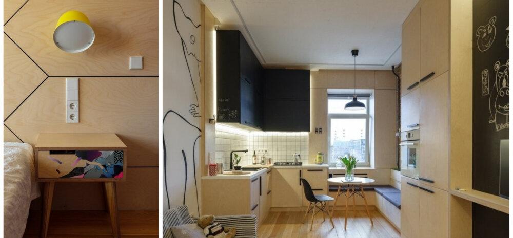 ФОТО | Квартира с интерьером из фанеры