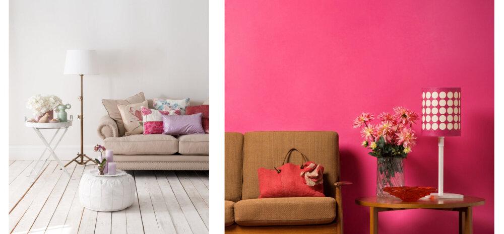 Viis värvi, mida on targem kodus vältida. Miks?