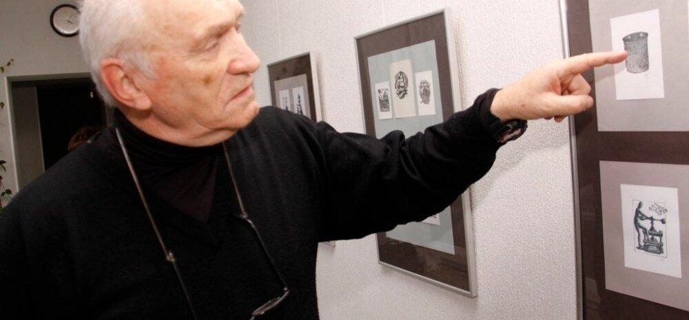 Художник из Израиля открыл свою выставку в Кохтла-Ярве