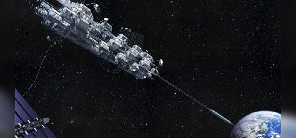 Jaapani ehitusfirma kavatseb 2050. aastaks püsti panna töötava kosmoselifti