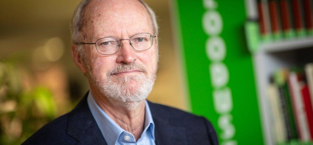 Nobeli preemia laureaat Robert Grubbs
