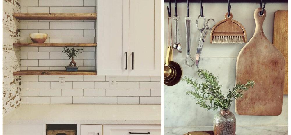20 kavalat kujundusnippi, mille abil väikesest köögist maksimum võtta