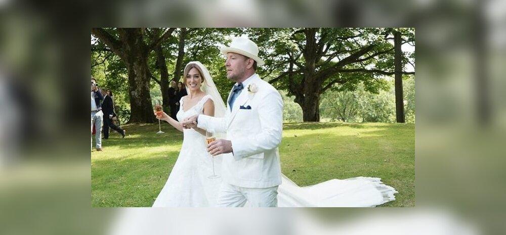 Guy Ritchie vägev pulmapidu