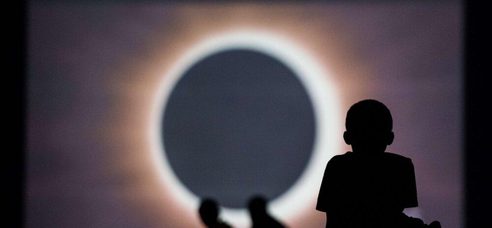 OTSEPILT | Haruldane vaatemäng: kümned miljonid ameeriklased näevad täna täielikku päikesevarjutust