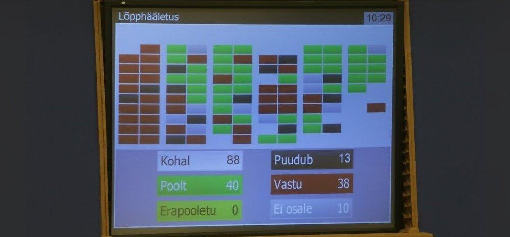 Estonian parliament passes the gender-neutral civil partnership bill