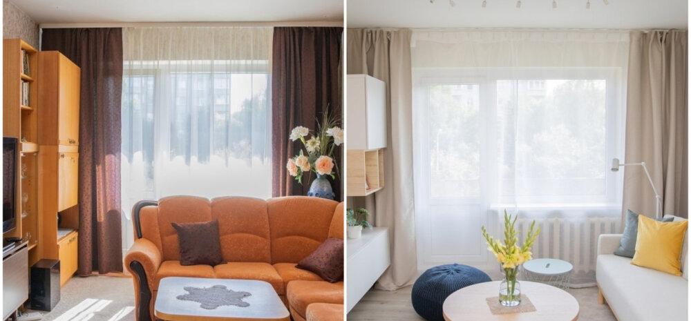 ДО И ПОСЛЕ | Перевоплощение интерьера для пожилой пары: больше света и пространства просто и недорого