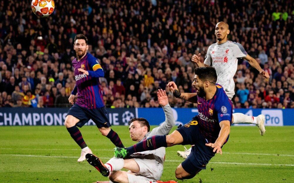89c6c883625 Jalgpalli Meistrite liigas tegi FC Barcelona eelmisel nädalal suure sammu  finaali suunas, kui poolfinaali avamängus suudeti FC Liverpool koduväljakul  ...