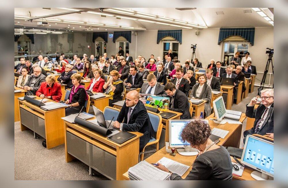 Tallinna Linnavolikogu istung