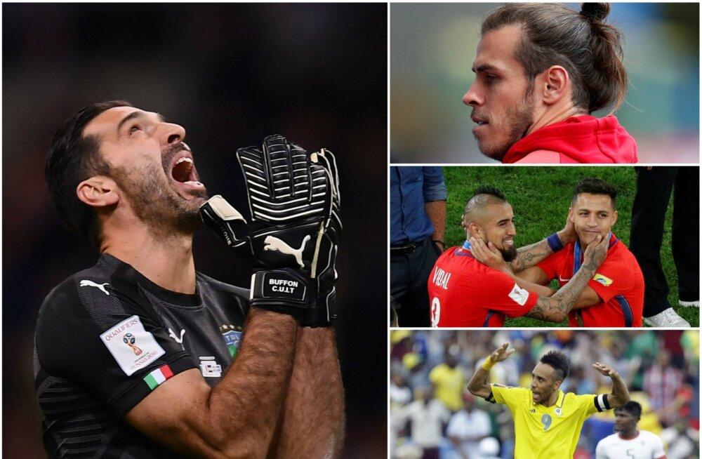TOP 10 | Millised tippmängijad ei pääsenud jalgpalli MMile?