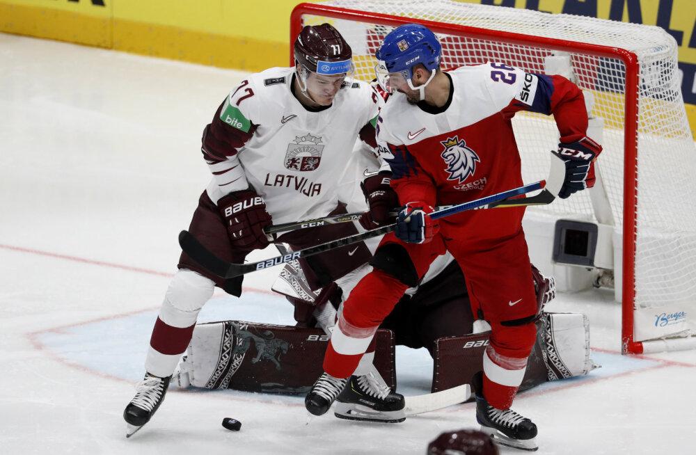 Läti ehmatas favoriiti Tšehhit, Soome võttis rutiinse võidu