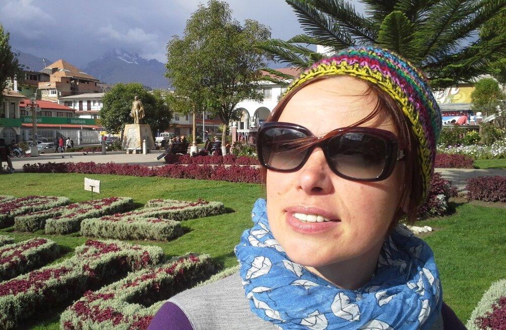 """""""Valge tuvi"""": Peruus hukkunud Jane pidas kuni traagilise mäkkeronimiseni vaimukat blogi"""