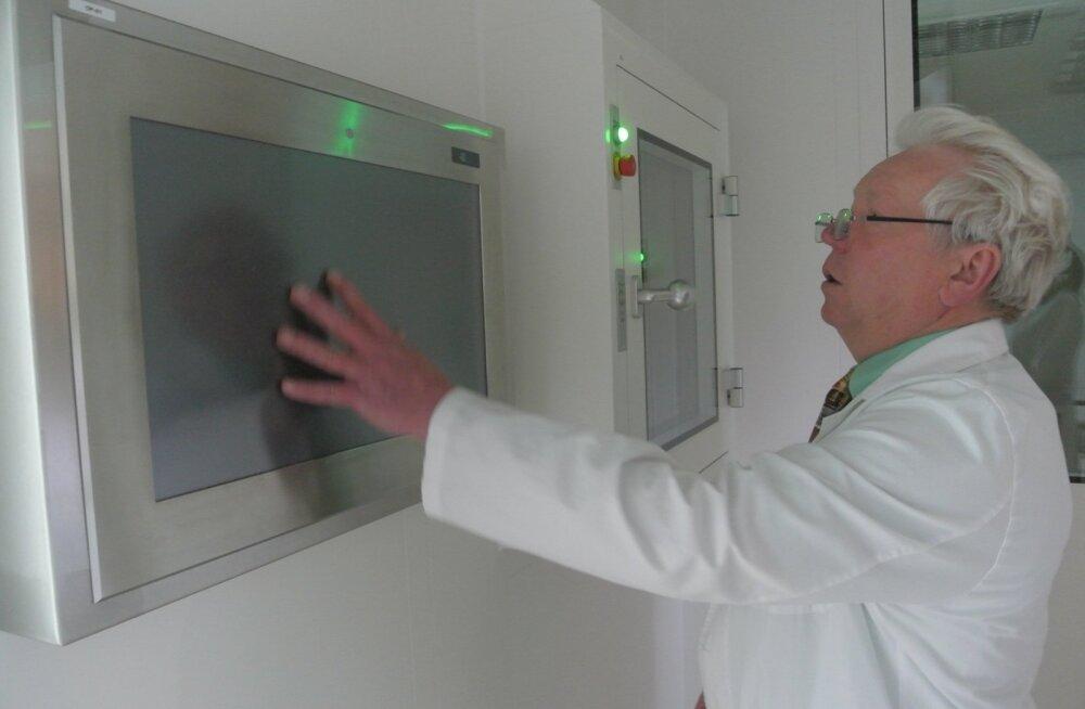 Tüvirakkude labori avamine