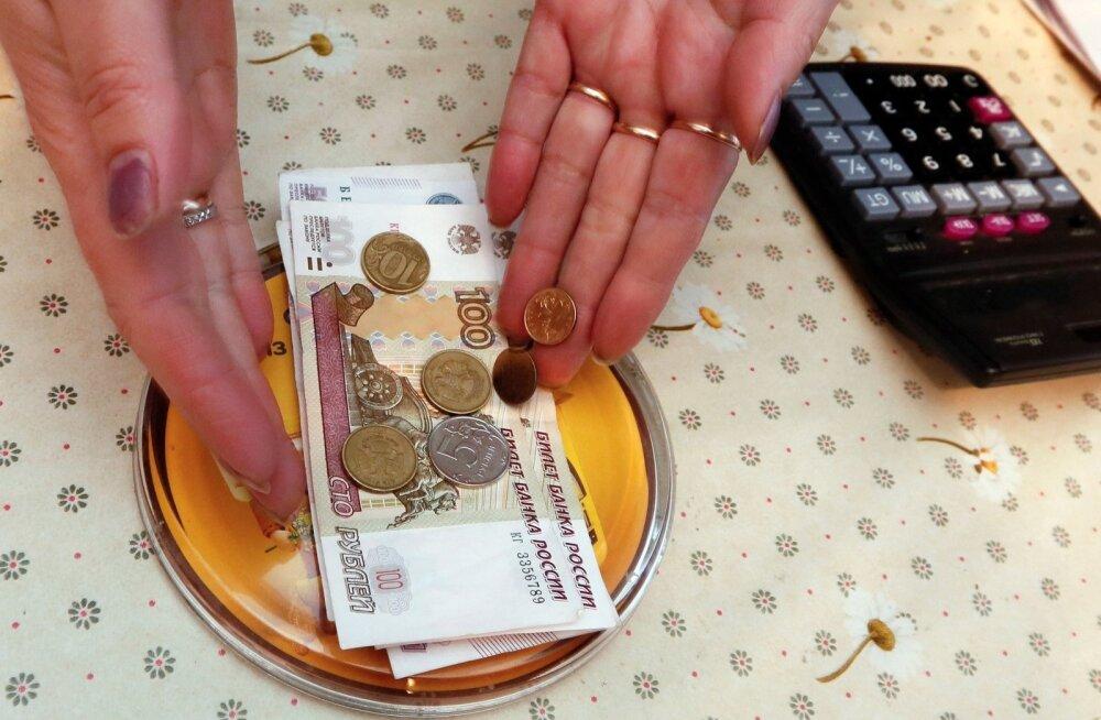 Rublad Venemaa toidupoes